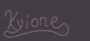 Kyione signature by KyioneEvans
