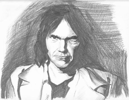 Neil Young by ffeksi