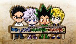 We LOVE HUNTERxHUNTER!! by xcredensjustitiamx