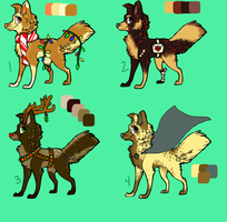 Offer to Adopt [OPEN] |2/4| by HeltindeAdopts