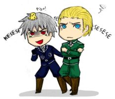 Germans chibi by iAlly