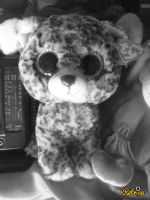 My TY Beanie Boo Speckles In 80s Effect 9 by PoKeMoNosterfanZG
