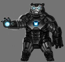 IRON BEAR by ilison