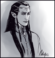 Elrond Peredhel by MellorianJ