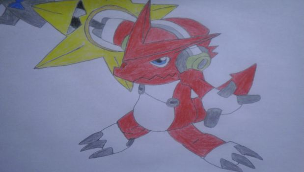 Shoutmon+Star Blade by Shadow-McCloud