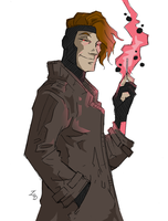 Gambit Sketch by BlitheFool