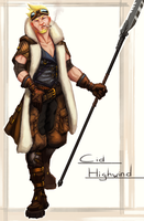 FFVII: Cid Highwind by Mechanubis