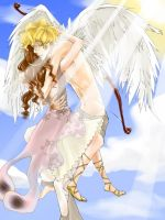 Cupid and Psyche by yume-darling