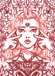 Flower Girl ~sketch~ by PluviaCadoLaxus