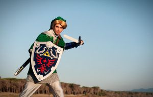 Link from The Legend of Zelda by Sandman-AC