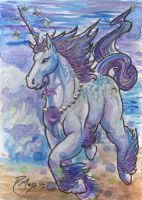 ACEO Unicorn 01 by rachaelm5