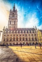 Sunny Day in Gent by elvistudio