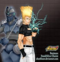 Benimaru Stand:silver Chariot by ahanblazer