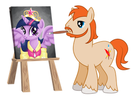 Painting the Royal Portrait by JohnRaptor