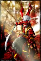 Charge of Shingen by khuon