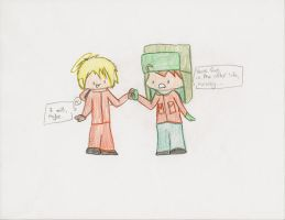 Kenny and Kyle for K-I-E-H by SexyGhostbuster