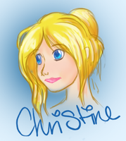 Christine Doodle by catching-dreamz