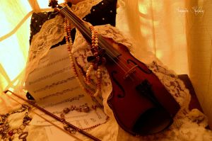 Music and Lace by helplessnessreveries