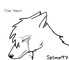 sad lineart by satme97