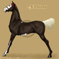 Nicholas - Saddlebred Colt by codfishing