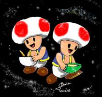 Zodiac Mario_The Twins by Sedna93