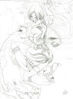 Lady and Dragon by Ferenand