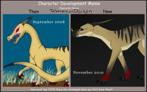 Tasmanian Dragon Develop Meme by katxicon