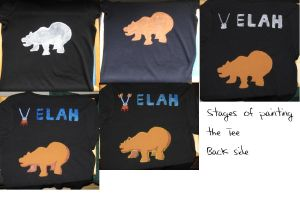 Making of the Velah Tee - Back by IronBrony