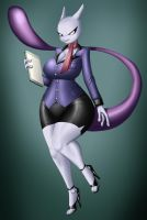 Milftwo Office Lady Colored by crovirus