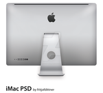 "Apple iMac 27"" Back PSD by fritjofdittner"