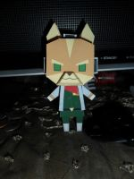 Fox McCloud Papercraft Built by Tyulyen