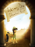 Daring-Do and the Deserted Past - Cover by Qsteel