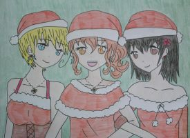 Christmas Girls by Veneziano58