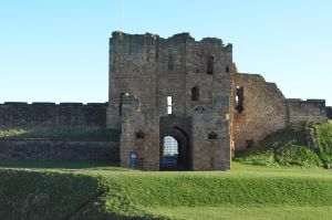 Tynemouth Priory and Castle with folklore story by DA-Kendep