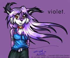 Violet. by violetomega