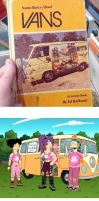 Ugly Book Covers - Some Basics About Vans by RomanJones
