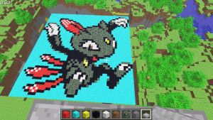 Minecraft Sneasel by MurphyAlter