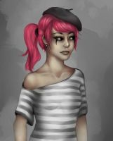 Monday's Mime by monsty