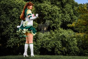 Ready for Battle Eternal Sailor Jupiter by Silver-Fyre
