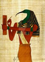 Thoth by skipperofotters05