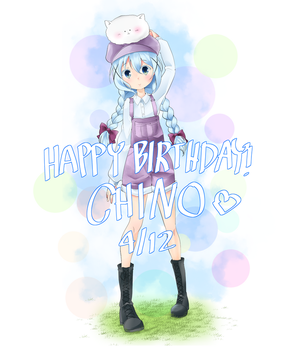 Happy Birthday Chino!! by SleepyOwl15