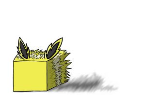 Jolteon Cube by Shirobutterfly