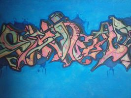 painting shicco wildstyle by SH-ICZOYIZLE