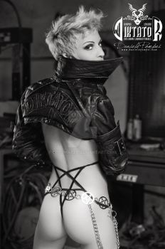 Diktator: Leather and Thong by OttoMarzo