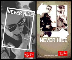 RayBan: James Dean by icaughthejazz