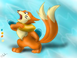 Buizel by Arvata