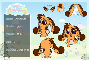 Sky explorers: Creampuff updated by Kat-Skittychu