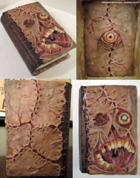 Necronomicon storage book/box 3/11/2015 by MorgansMutations
