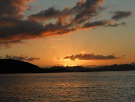 Caribbean Sunset by Child-of-Minerva
