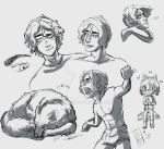 Character Design: Josh by Moophles